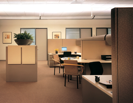 Typical Office and Workstation Area