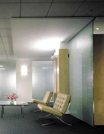 Waiting Area at Executive Floor with View Toward Executive Offices