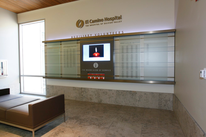 First Floor Concourse Auxiliary Recognition and Digital Wall Display